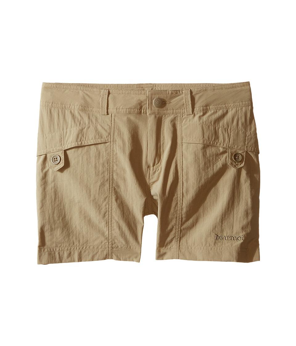 Marmot Kids - Ginny Shorts (Little Kids/Big Kids) (Desert Khaki) Girls Shorts