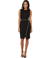 Calvin Klein - Sheath Dress w/ Zippers