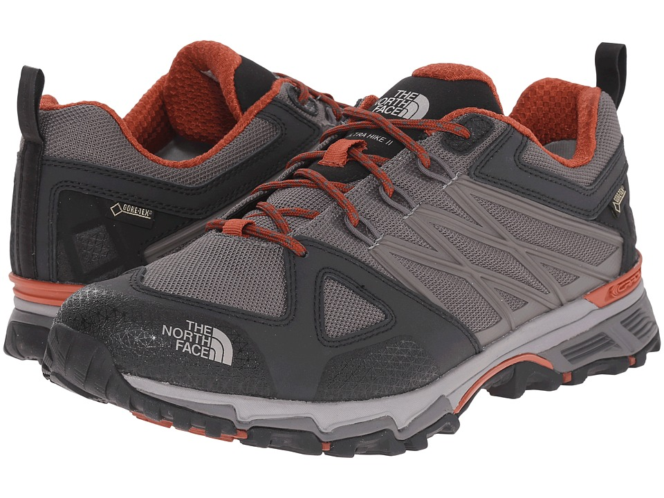 The North Face Ultra Hike II GTX (Dark Gull Grey/Arabian Spice) Men