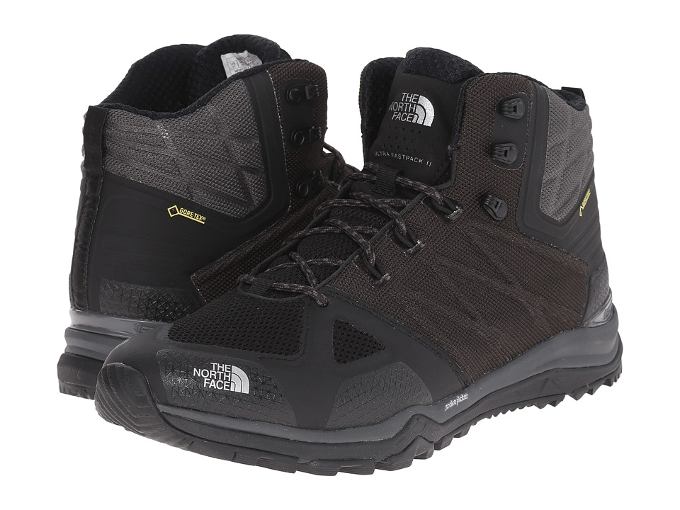 The North Face - Ultra Fastpack II Mid GTX (TNF Black/Dark Shadow Grey) Men