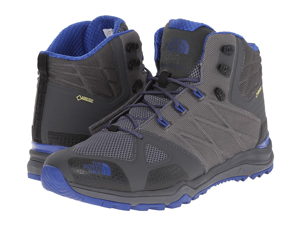 The North Face - Ultra Fastpack II Mid GTX (Zinc Grey/Limoges Blue) Men