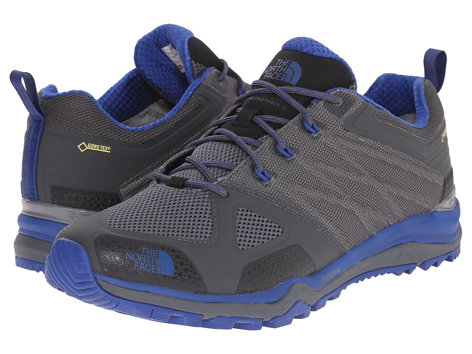 The North Face - Ultra Fastpack II GTX (Zinc Grey/Limoges Blue) Mens Shoes