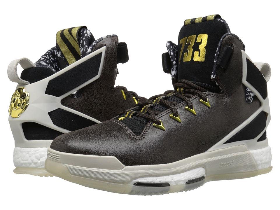 adidas - Derrick Rose 6 Boost (Black/Vivid RedShock Blue) Men