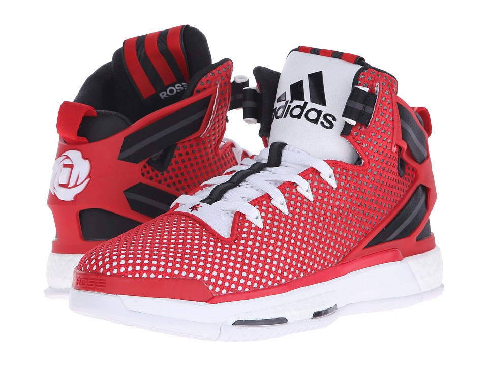 adidas - Derrick Rose 6 Boost (Scarlet/Core Black/WHite) Men