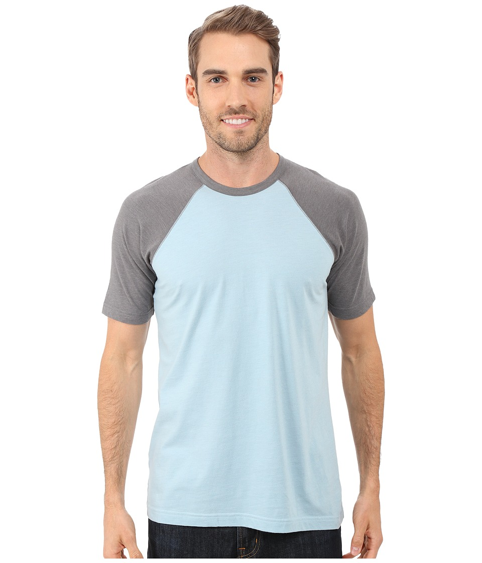 Ecoths Chandler Tee Light Blue Mens T Shirt