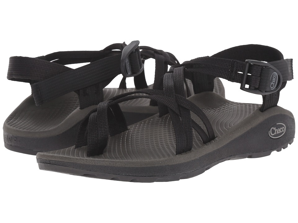 Chaco Z/Cloud X2 Black Womens Sandals