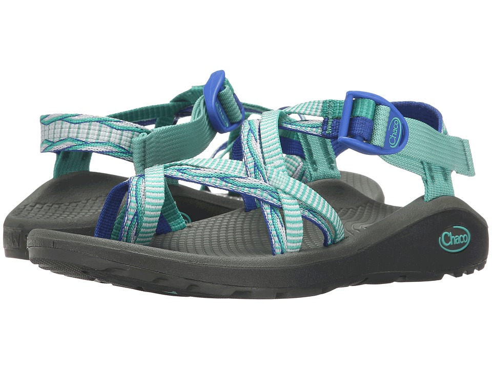 Chaco Z/Cloud X2 Lima Blue Womens Sandals