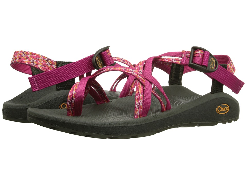 Chaco Z/Cloud X2 Reef Reds Womens Sandals