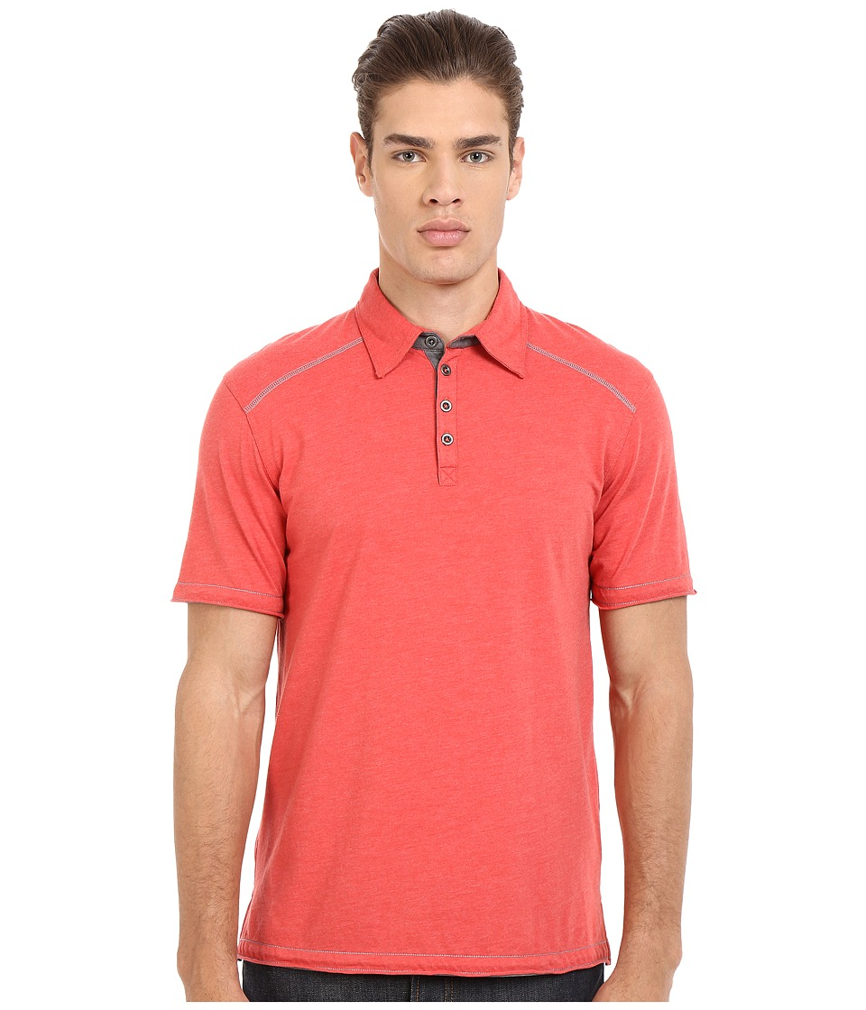Ecoths Garrick Polo Chipotle Mens Short Sleeve Pullover