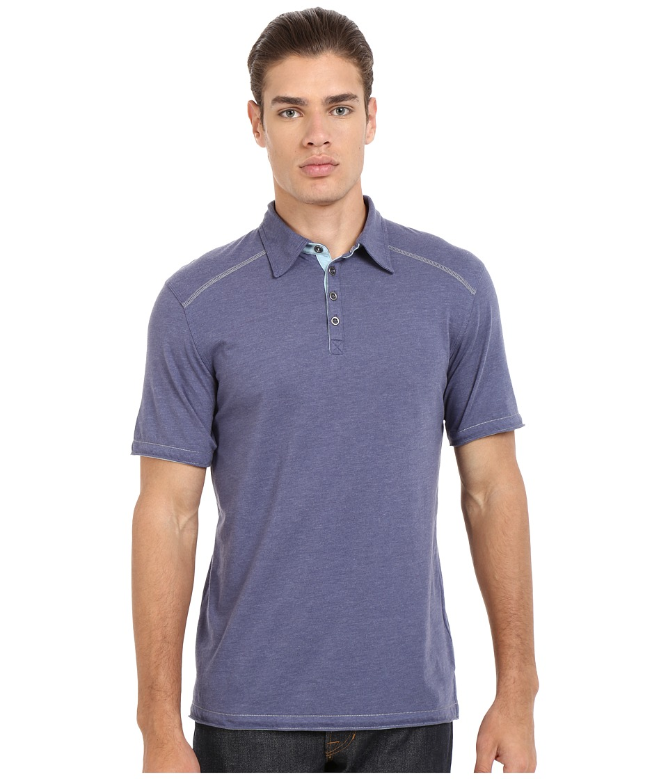 Ecoths Garrick Polo Nightshadow Mens Short Sleeve Pullover