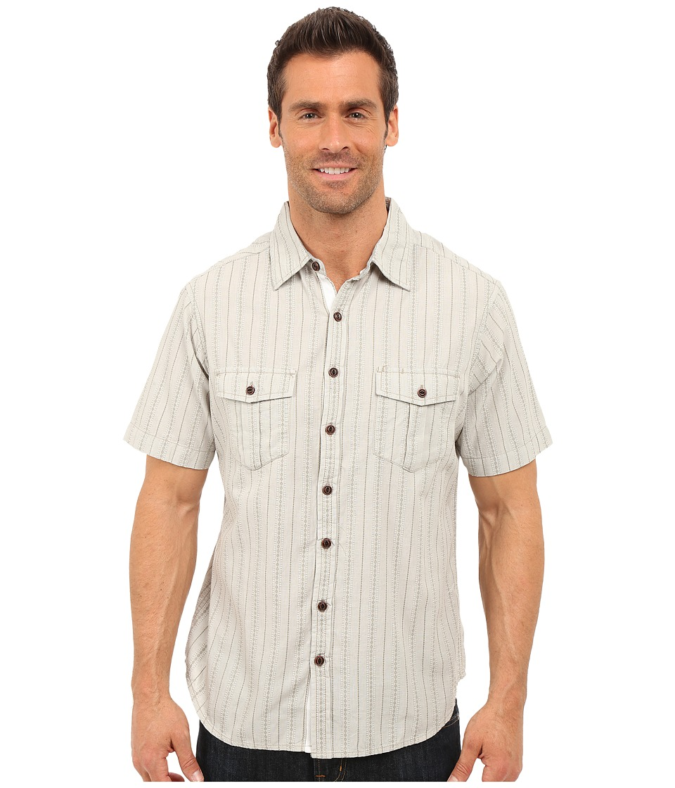 Ecoths Gunnar Short Sleeve Shirt Rock Ridge Mens Short Sleeve Button Up