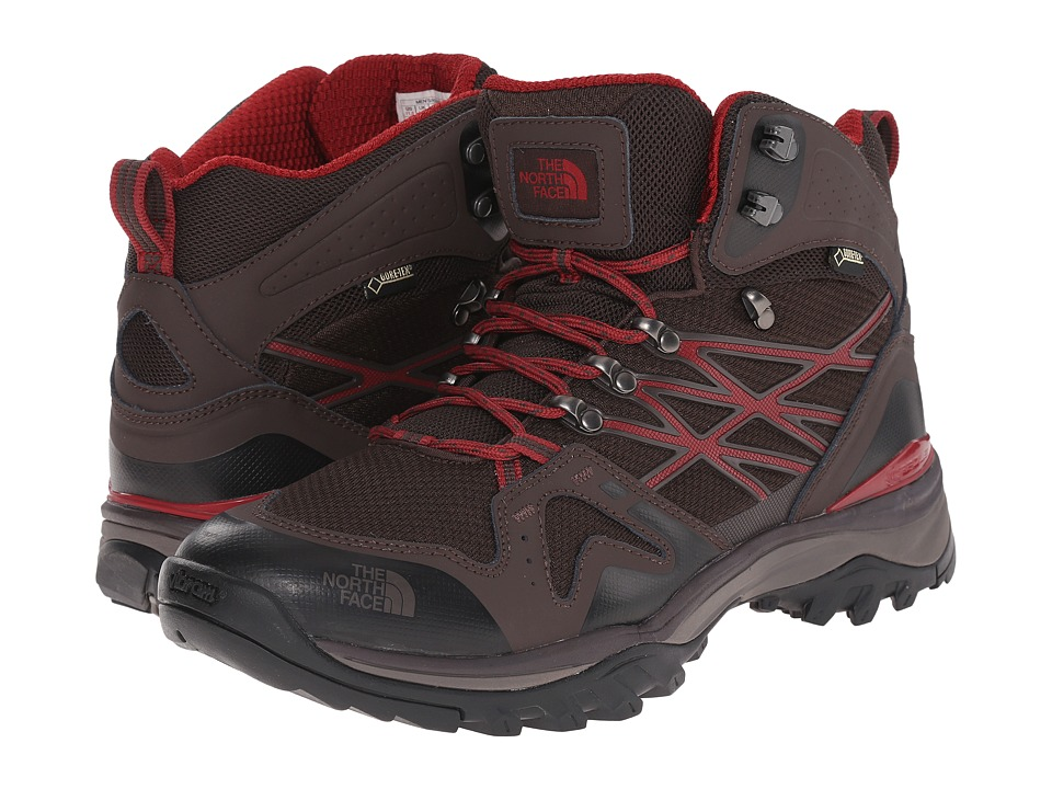 The North Face - Hedgehog Fastpack Mid GTX (Mulch Brown/Biking Red) Men