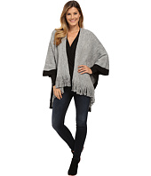 Bobeau - Fringe Blanket Sweater