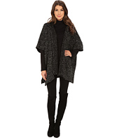 Bobeau - Textured Poncho with Hood