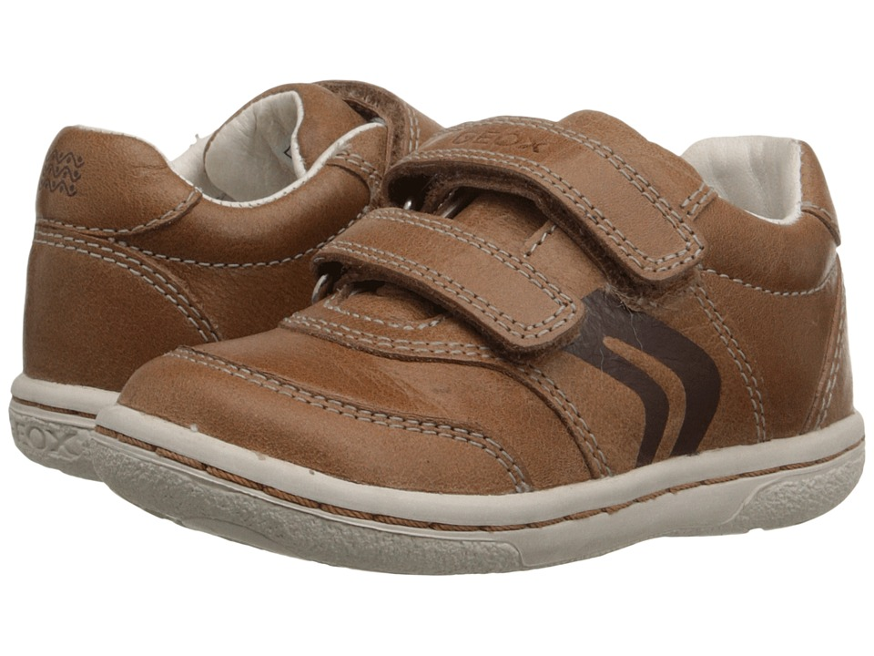 Geox Kids Baby Flick Boy 42 Toddler Caramel Boys Shoes