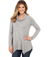 Bobeau - Brushed Cowl Neck Tunic