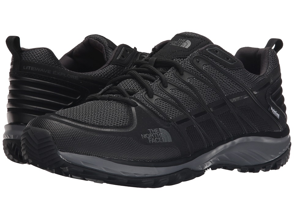The North Face Litewave Explore WP (TNF Black/Dark Grey Shadow) Men