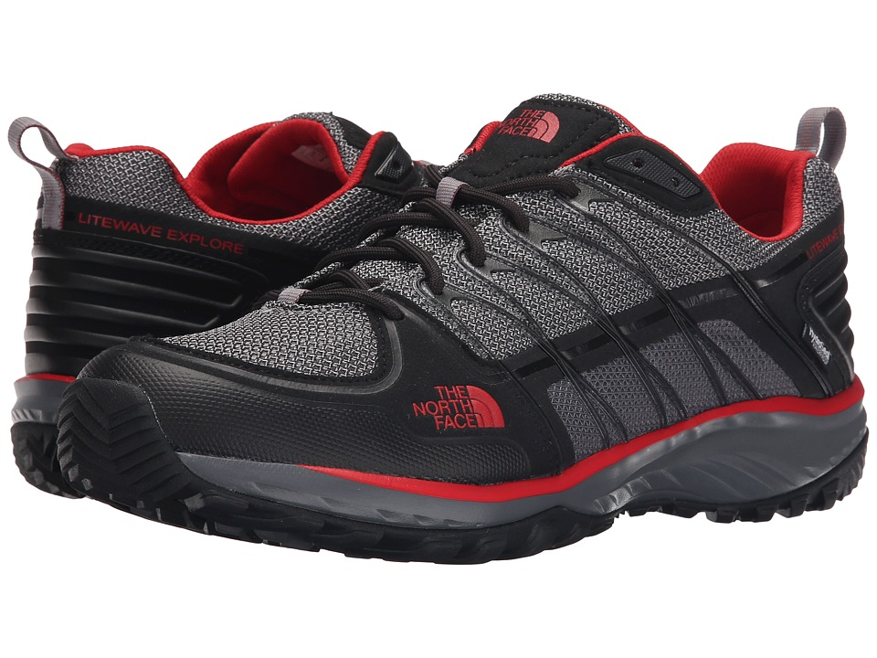 The North Face Litewave Explore WP (Phantom Grey/Pompeian Red) Men