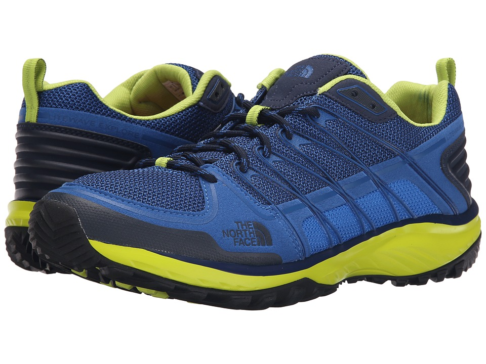 The North Face Litewave Explore (Blue Quartz/Latern Green) Men