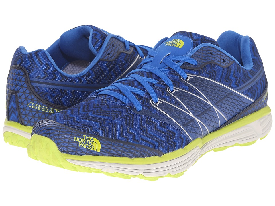 The North Face Litewave TR (Blue Quartz/Latern Green) Men