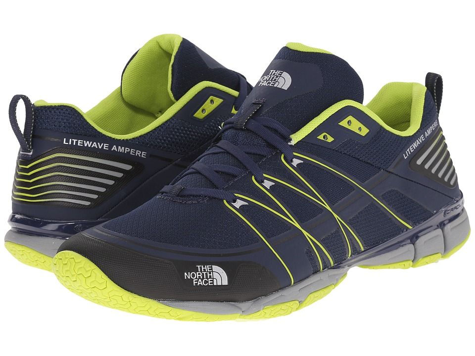 The North Face Litewave Ampere (Cosmic Blue/Latern Green) Men