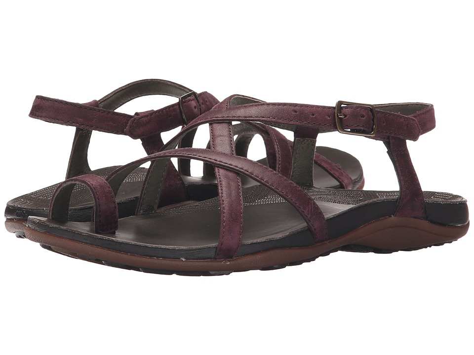 Chaco Dorra Malbec Womens Sandals