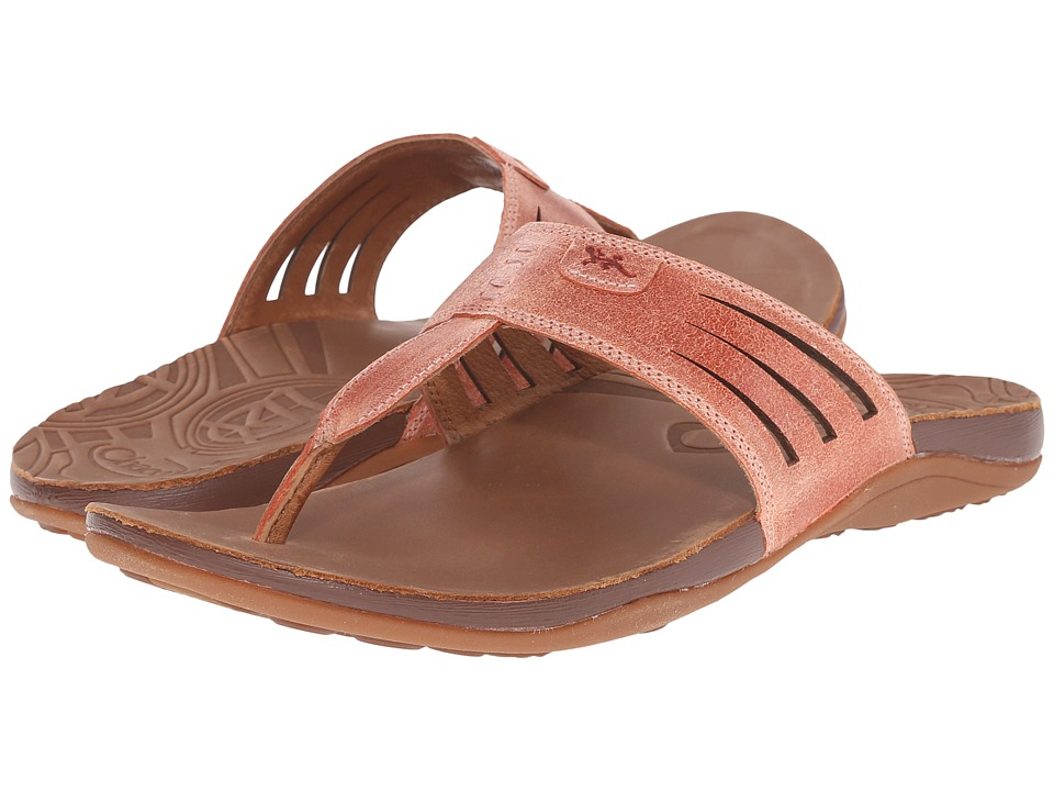 Chaco Sansa Peach Womens Shoes