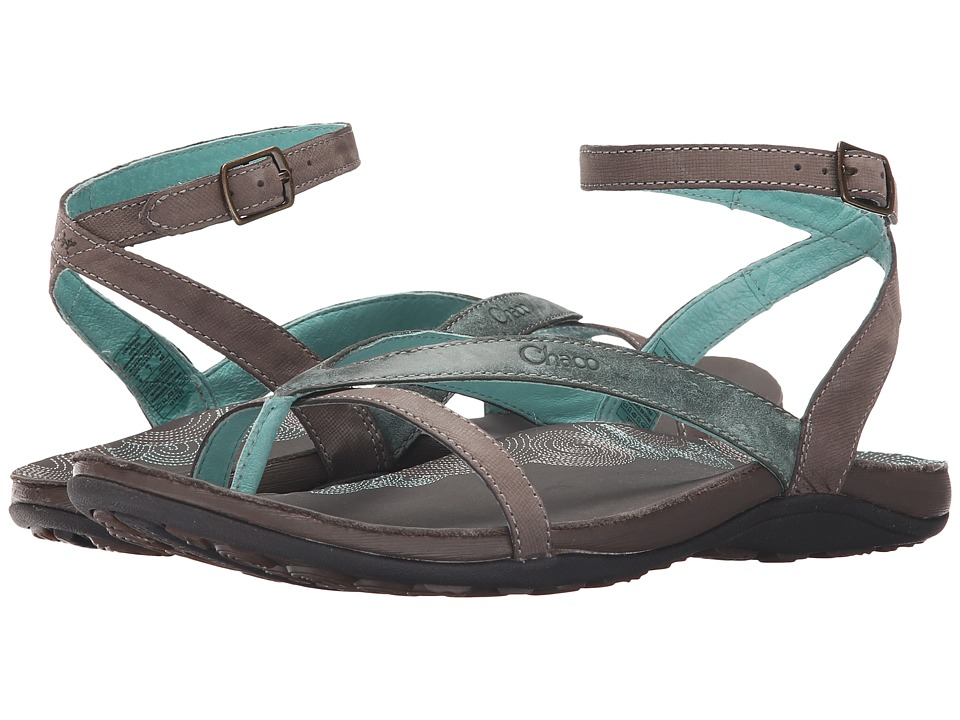 Chaco Sofia Turquoise Womens Shoes