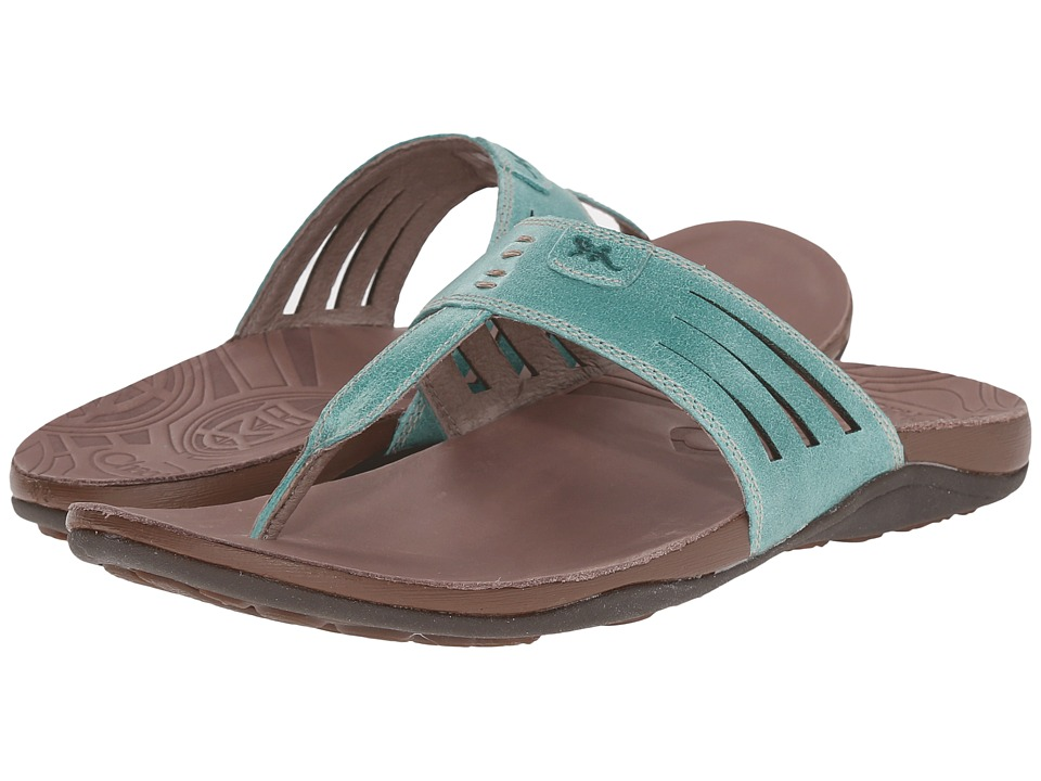 Chaco Sansa Turquoise Womens Shoes