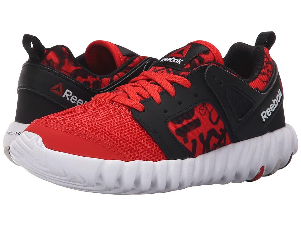 Reebok Kids - Twistform 2.0 (Big Kid) (Motor Red/Black/White) Boys Shoes