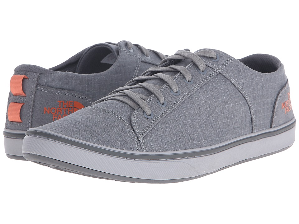 The North Face Base Camp Lite Sneaker Sedona Sage Grey/Orange Rust Mens Shoes