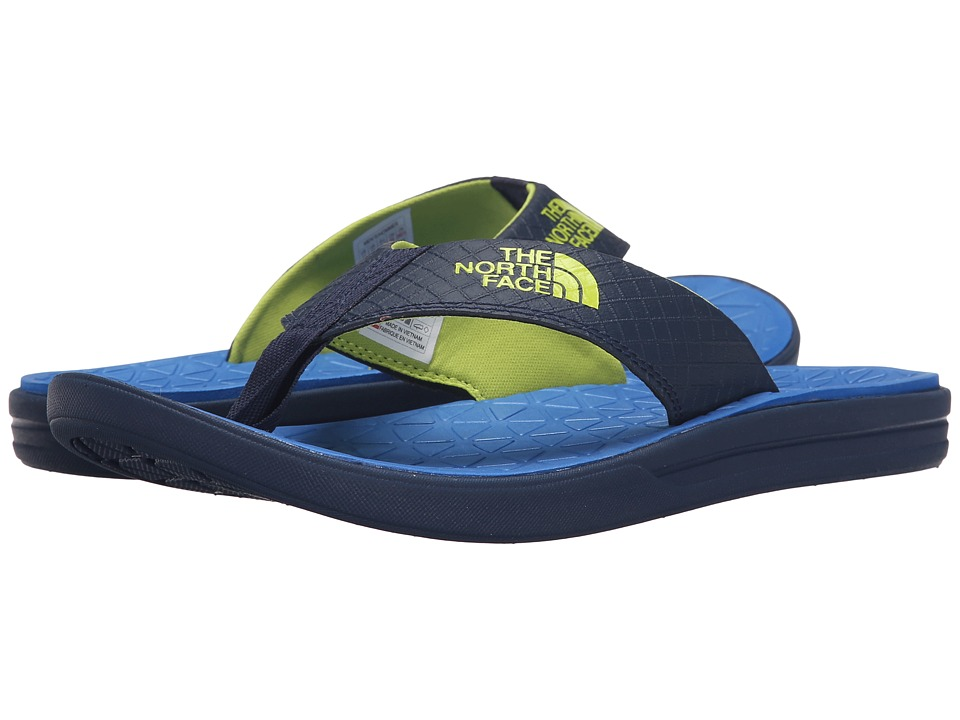 The North Face Base Camp Lite Flip Flop Cosmic Blue/Latern Green Mens Sandals