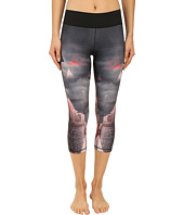 adidas - Workout Mid Rise 3/4 Tights w/ City Attack Print