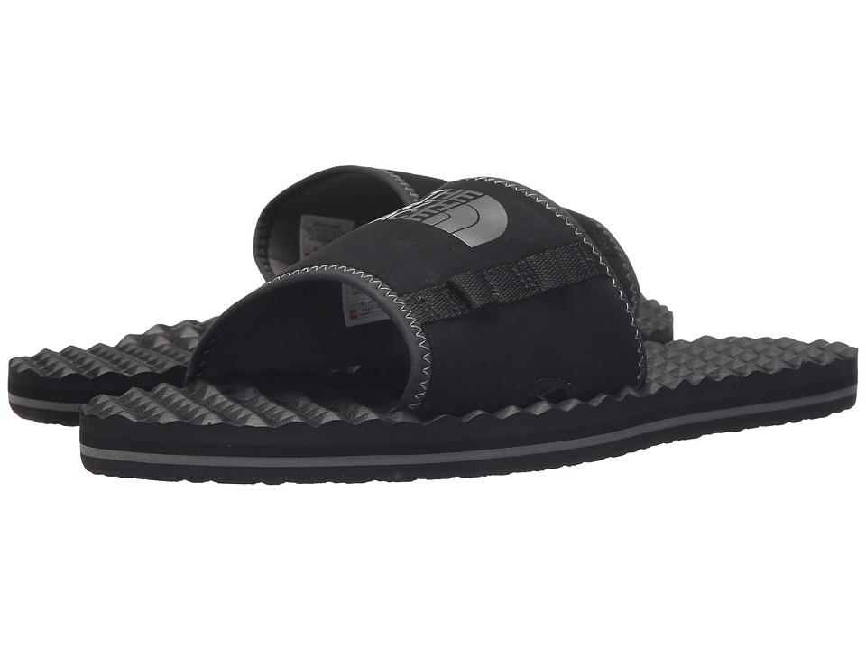 The North Face Base Camp Plus Slide TNF Black/Graphite Grey Mens Slide Shoes