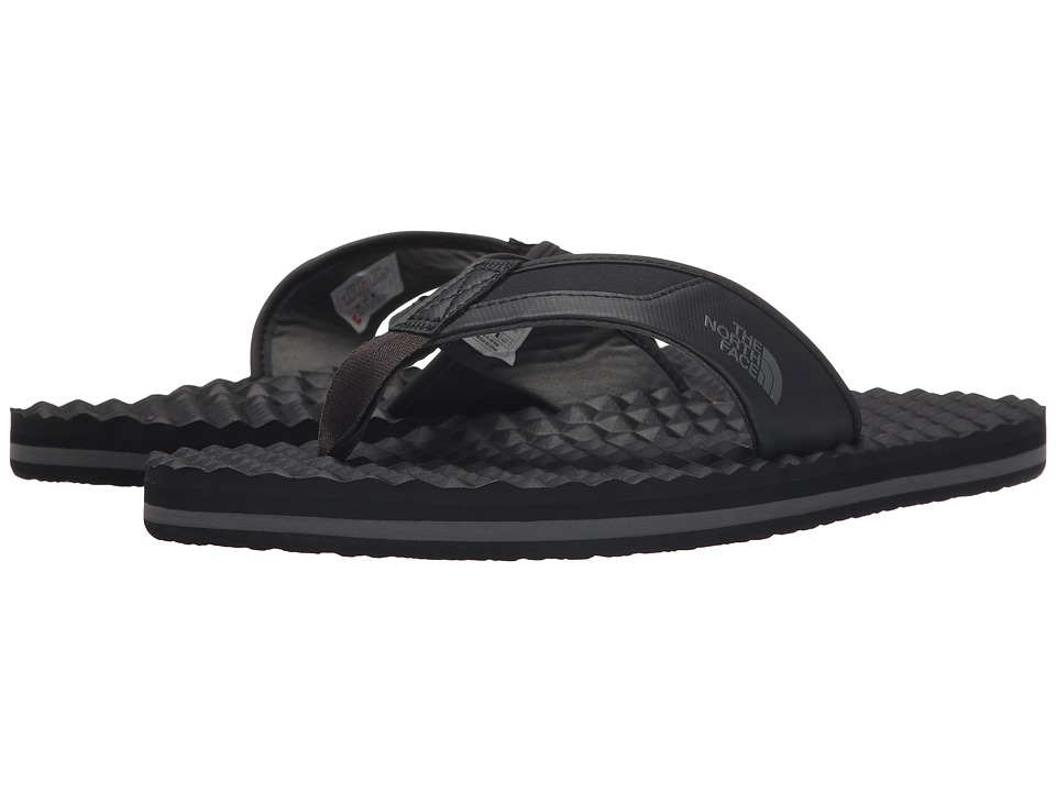 The North Face - Base Camp Plus Flip Flop (TNF Black/Graphite Grey (Prior Season)) Mens Sandals