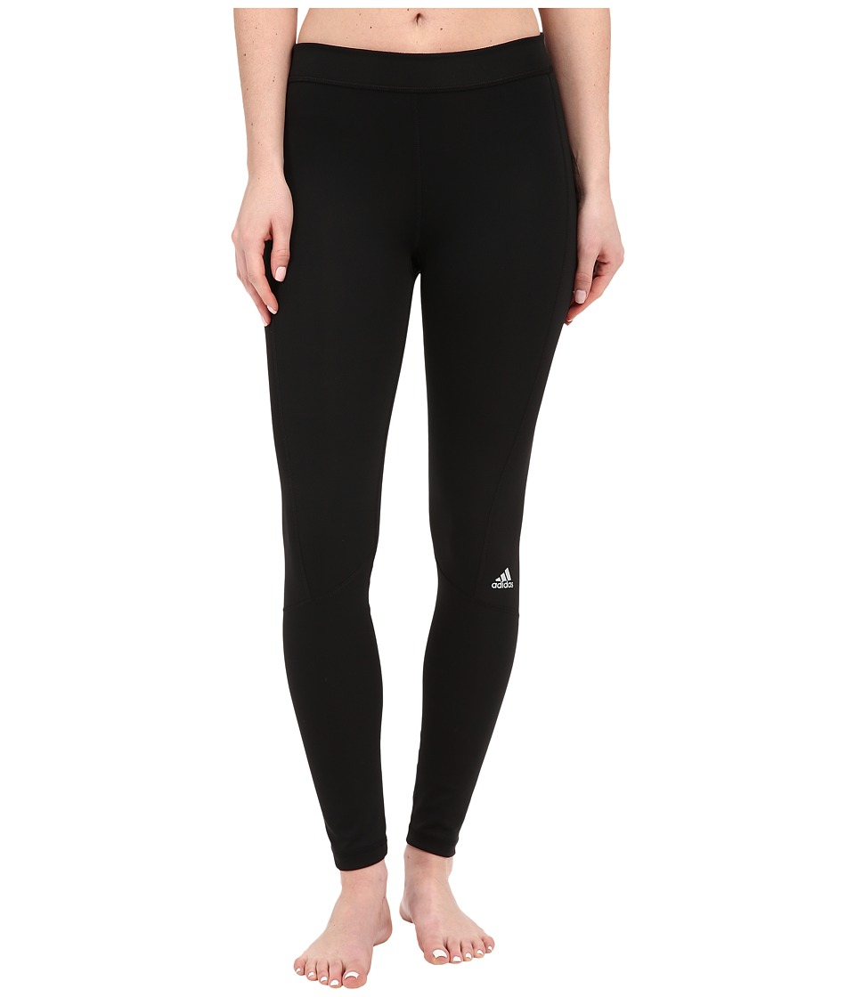 adidas Techfit Long Tights (Black/Matte Silver) Women