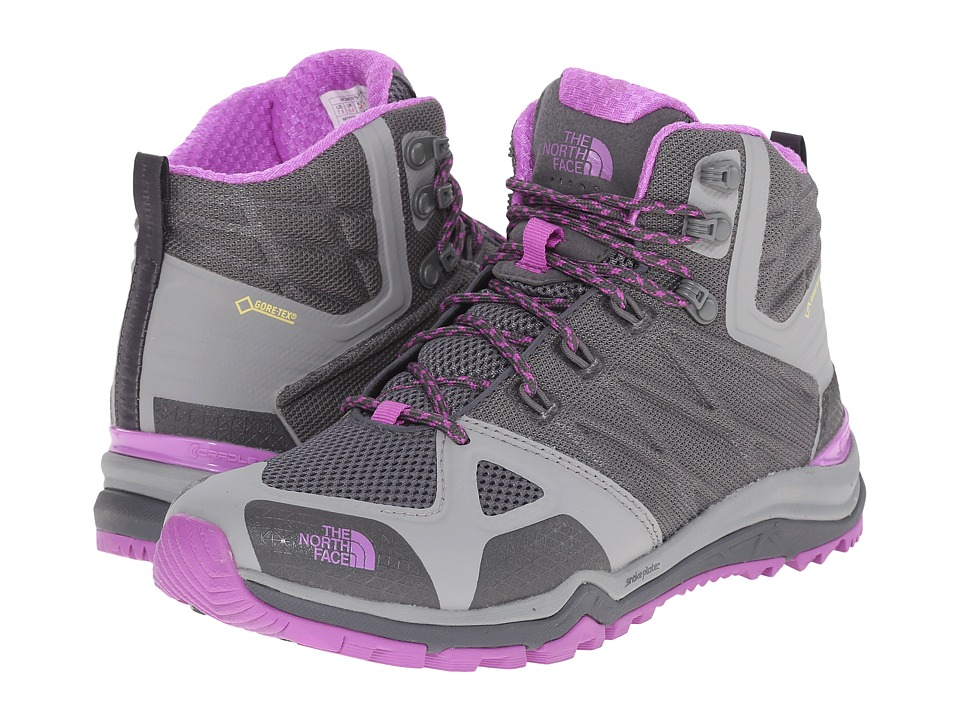 The North Face - Ultra Fastpack II Mid GTX (Zinc Grey/Sweet Violet) Women
