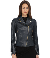 ZAC Zac Posen - Willow Leather Fringe Jacket