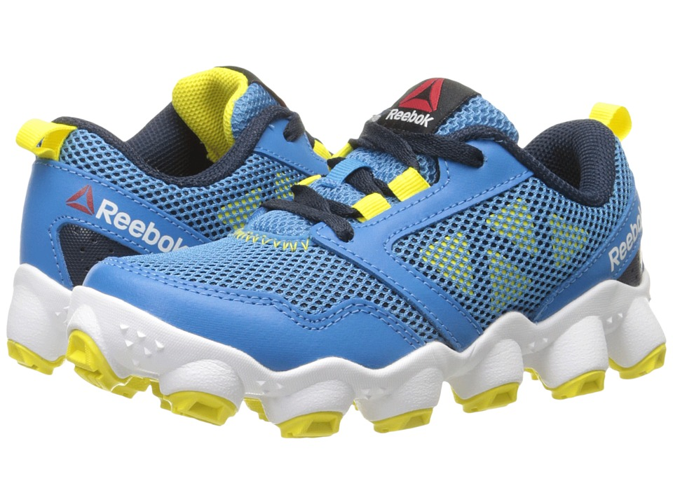 Reebok Kids ATV19 3.0 Little Kid Electric Blue/Collegiate Navy/Yellow Spark/White/Black Boys Shoes