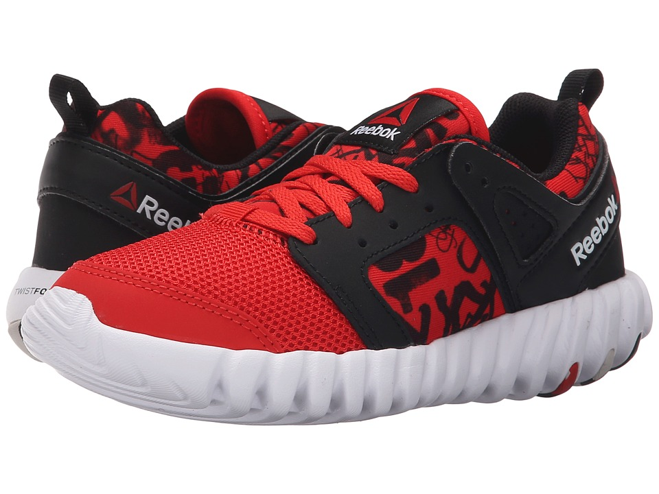 Reebok Kids - Twistform 2.0 (Little Kid) (Motor Red/Black/White) Boys Shoes