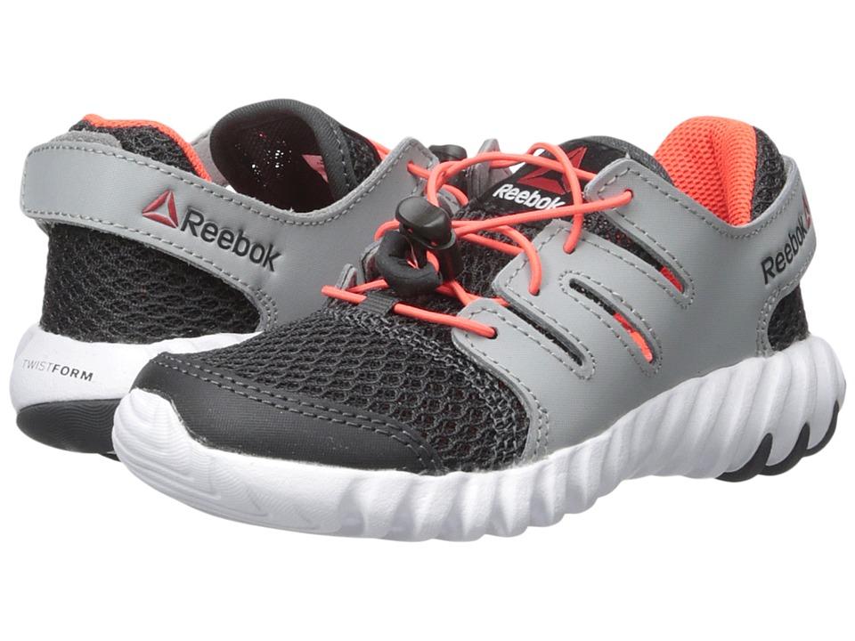 Reebok Kids - Twistform 2.0 SS (Little Kid) (Coal/Tin Grey/Atomic Red/White) Boys Shoes