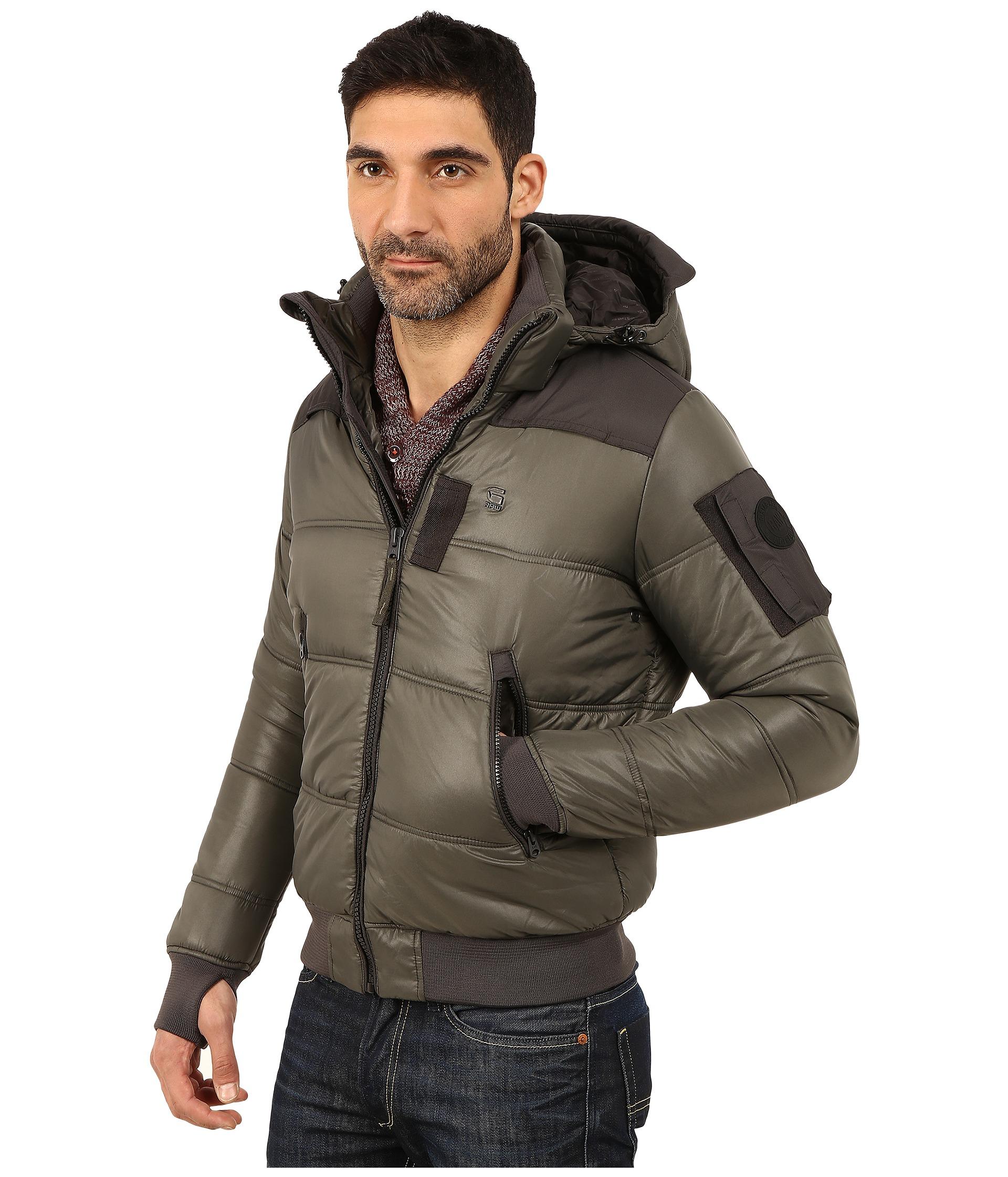 G-Star Whistler Hooded Bomber Jacket $200.00