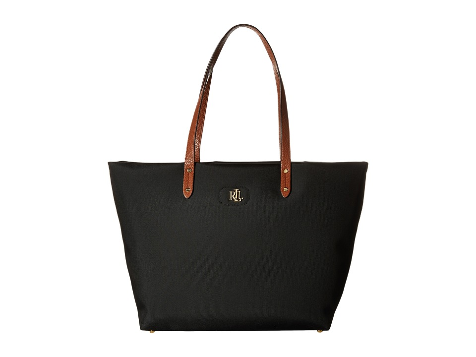 LAUREN Ralph Lauren - Bainbridge Tote (Black) Tote Handbags