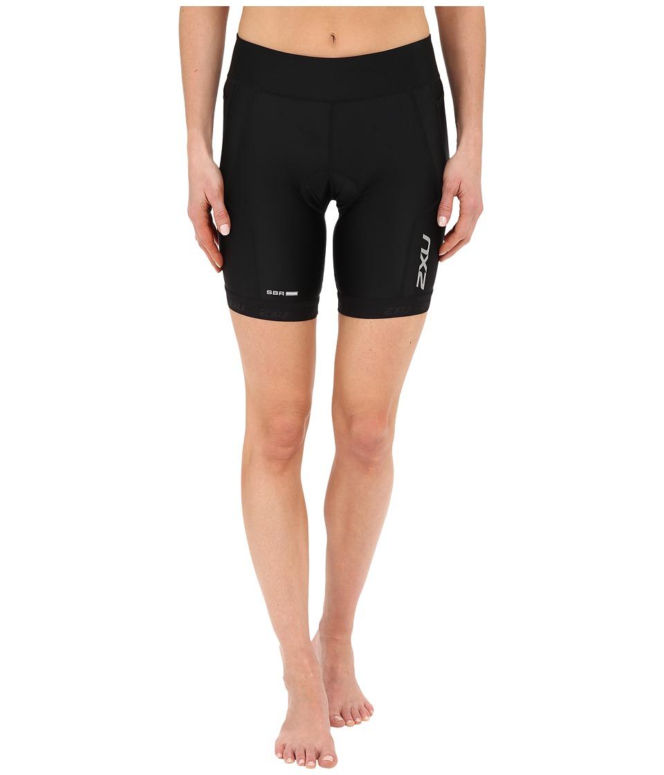 2XU Perform Tri Shorts Black/Black Womens Shorts