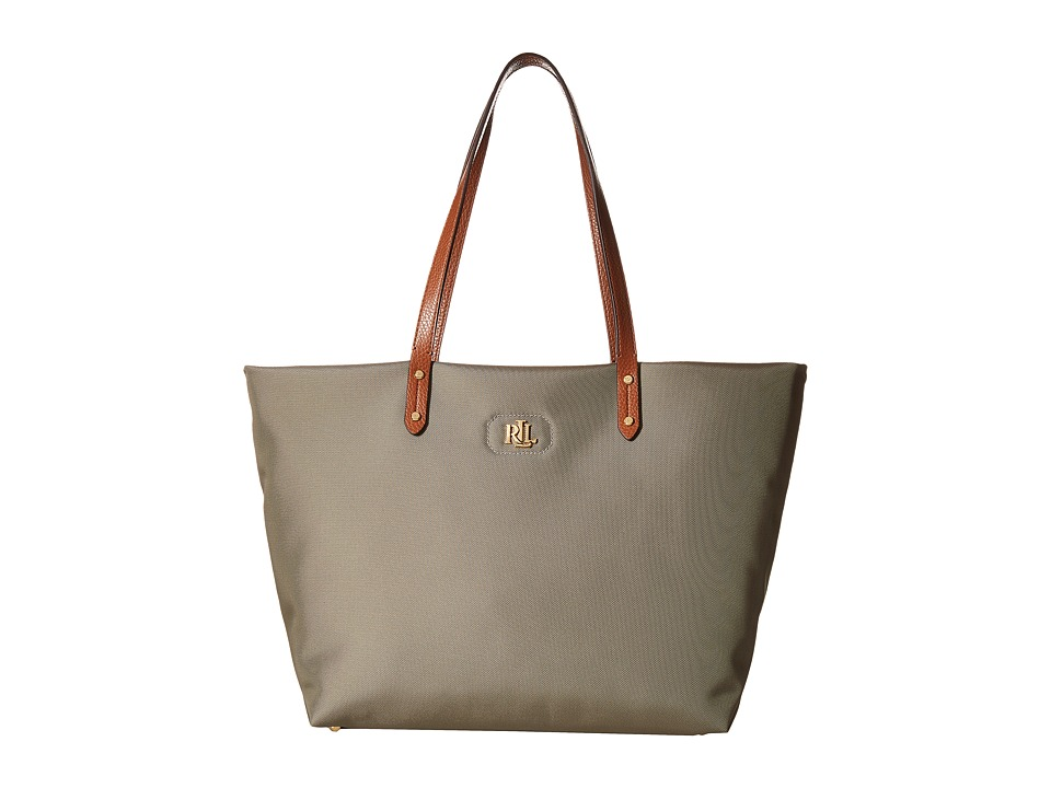 LAUREN Ralph Lauren - Bainbridge Tote (New Khaki) Tote Handbags