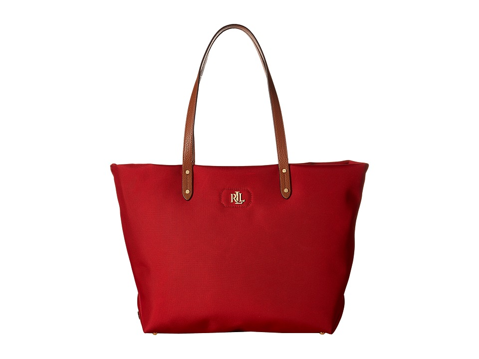 LAUREN Ralph Lauren - Bainbridge Tote (Red) Tote Handbags