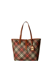 LAUREN by Ralph Lauren - Crawley Plaid Unlined Tote
