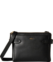 LAUREN by Ralph Lauren - Crawley Double Zip Crossbody