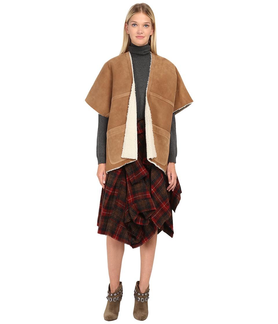Ys by Yohji Yamamoto YY C40 730 Camel Womens Coat