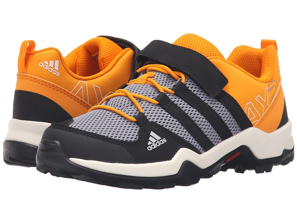 adidas Outdoor Kids - AX2 CF (Little Kid/Big Kid) (Onix/Core Black/EQT Orange) Kids Shoes